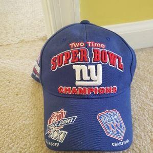 Giants super bowl hat